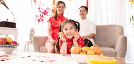 中国人家族